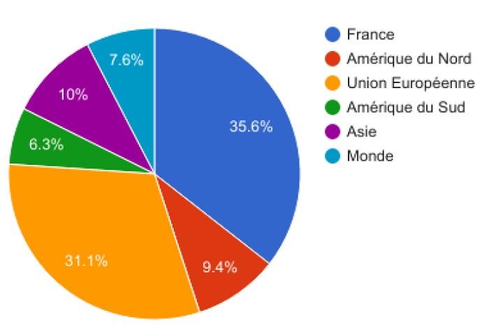 Les origines géographiques des loueurs de meublés à Paris au 1er trimestre 2017
