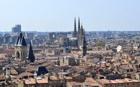 view of Bordeaux city