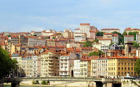 view of Lyon city