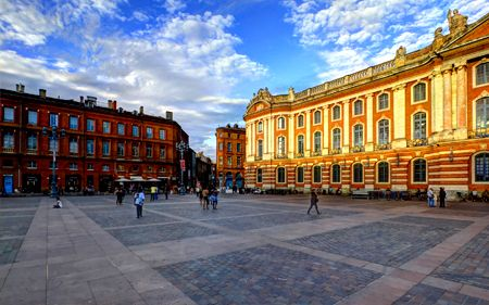 view of Toulouse city