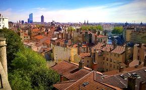 vue ville Lyon
