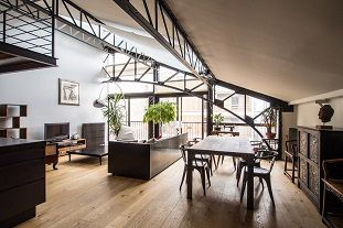 Location meubl e et vente d 39 appartements paris lodgis for Loft new york affitto