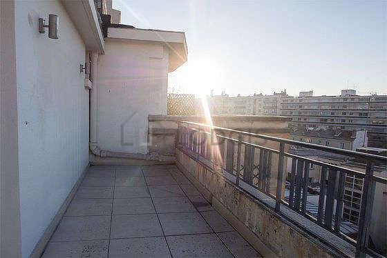 Terrasse exposée plein sud