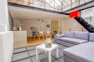 Triplex Paris 11° - Séjour