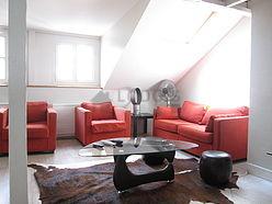 雙層公寓 巴黎6区 - 客廳