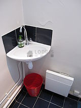 雙層公寓 巴黎6区 - 廁所