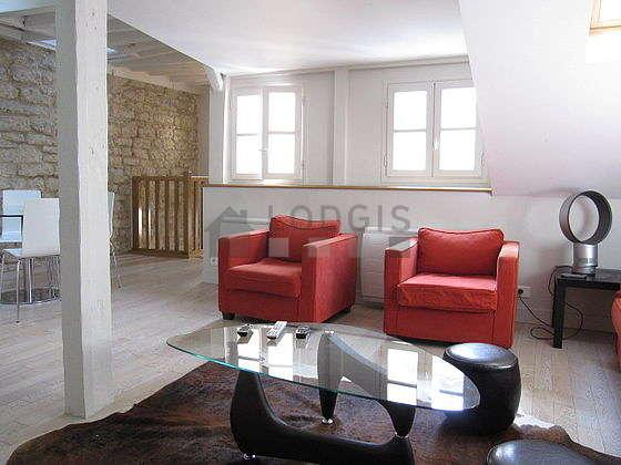 Duplex Paris 6° - Séjour
