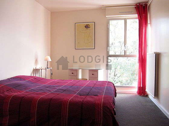 Bedroom with its coco floor