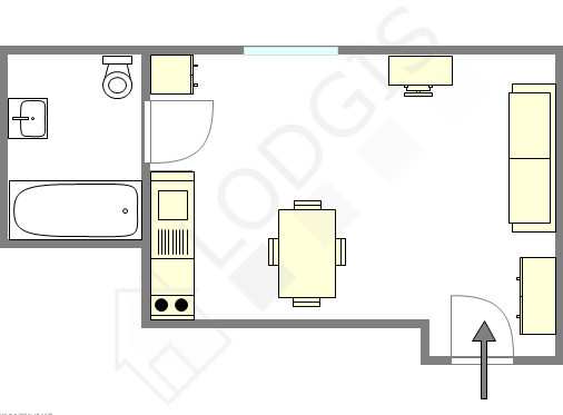 Apartment Val de marne sud - Interactive plan