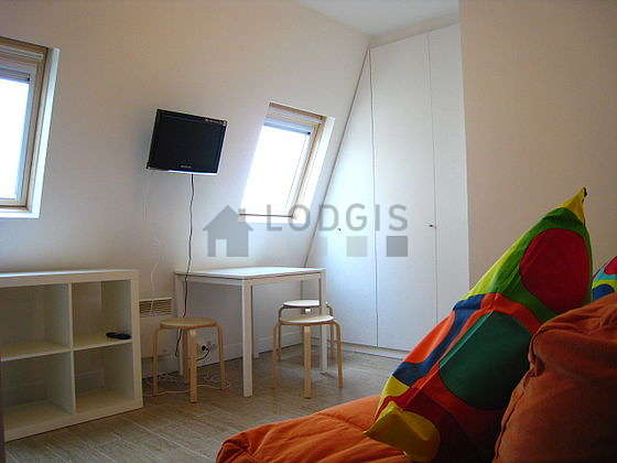 Very quiet living room furnished with 2 sofabed(s) of 90cm, tv, wardrobe