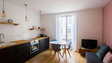 Montparnasse Paris 14° 1 Schlafzimmer Wohnung