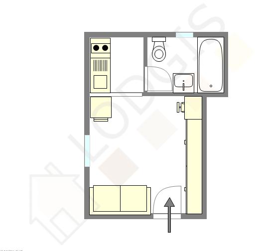 公寓 Val de marne sud - 互動圖
