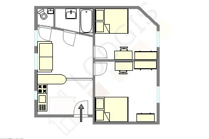 Apartamento Val de marne sud - Plano interactivo