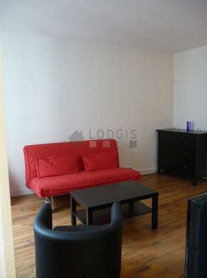 Quiet living room furnished with 1 sofabed(s) of 160cm, tv, dvd player, 1 armchair(s)