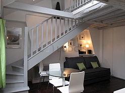 雙層公寓 巴黎5区 - 客廳
