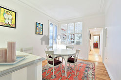 Wohnung Paris 7° - Esszimmer