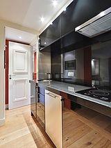 アパルトマン パリ 8区 - キッチン