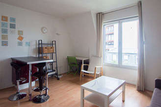 Buttes Chaumont 巴黎19区 1個房間 公寓