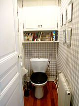 Apartment Paris 16° - Toilet