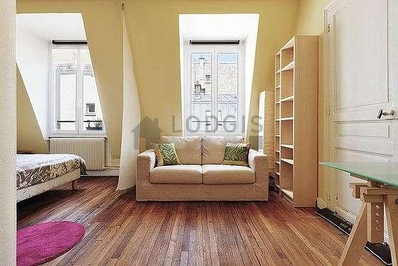 Location Studio Avec Cheminée Paris 8 Rue Daru Meublé 36 M² Monceau