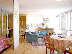 頂樓公寓 巴黎5区 - 客廳