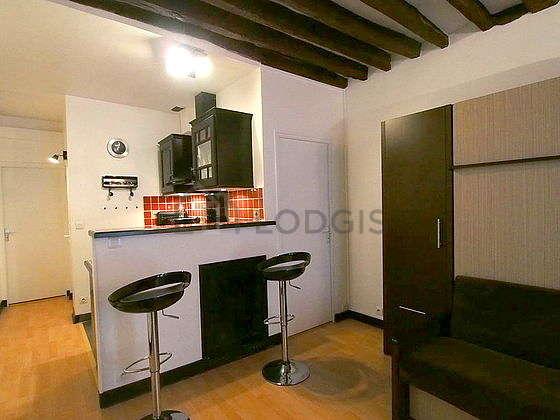 Location studio Paris 10° (Rue Du Faubourg Du Temple) | Meublé 24 m² ...