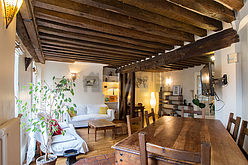 Wohnung Paris 2° - Wohnzimmer