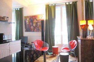 Canal Saint Martin Paris 10° studio with alcove