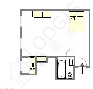 Apartamento Paris 5° - Plano interativo