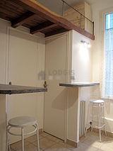Wohnung Paris 20° - Küche