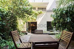 Wohnung Paris 15° - Garten
