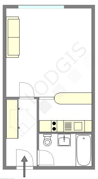 Appartement Hauts de seine Sud - Plan interactif