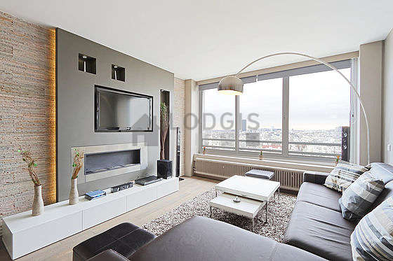 Location appartement 2 chambres avec ascenseur paris 15 for Appartement meuble paris long sejour