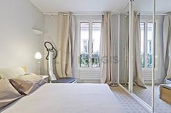 双层公寓 巴黎5区 - 卧室
