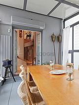 双层公寓 巴黎5区 - 饭厅