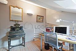 双层公寓 巴黎5区 - 书房