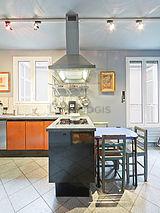 双层公寓 巴黎5区 - 厨房