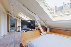 Дуплекс Париж 5° - Спальня 2