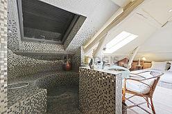 双层公寓 巴黎5区 - 浴室 3