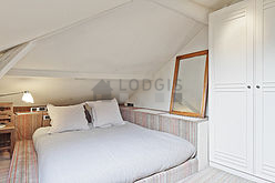 Duplex Paris 5° - Bedroom 3
