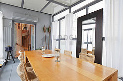 Duplex Paris 5° - Dining room
