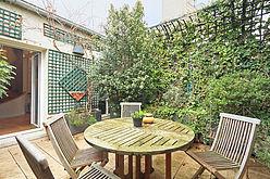 Duplex Paris 5° - Terrasse