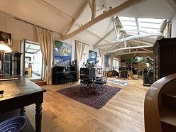 Duplex Paris 5° - Wohnzimmer