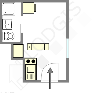 Apartamento París 7° - Plano interactivo