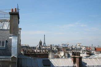 Duplex 1 chambre Paris 6° Luxembourg