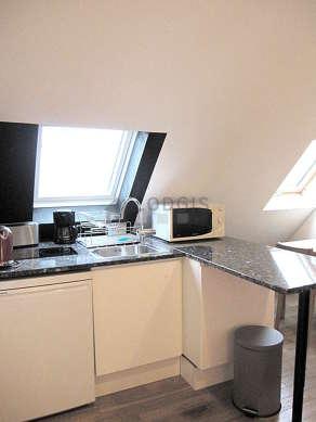Appartement Paris 3° - Cuisine