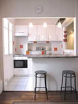 Appartement Paris 18° - Cuisine