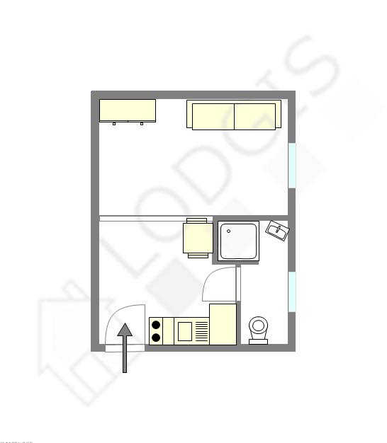 Appartement Seine st-denis Est - Plan interactif