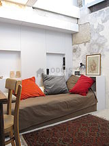 Duplex Paris 19° - Bedroom