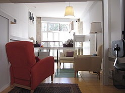 Duplex Paris 19° - Living room